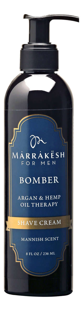 Крем для бритья For Men Bomber Shave Cream Mannish Scent 236мл
