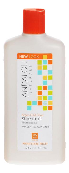 Шампунь для увлажнения волос Moisture Rich Argan Oil & Shea Shampoo 340мл: Шампунь 340мл шампунь reveur rich repair