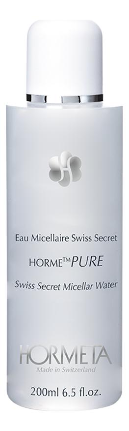 Купить Мицеллярная вода для лица Секрет Швейцарии ОрмеПЮР Eau Micellaire Swiss Secret 200мл, HORMETA