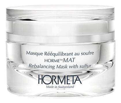Купить Маска для лица на основе органической серы ОрмеМАТИРОВАНИЕ Masque Reequilibrant Au Soufre 50мл, HORMETA