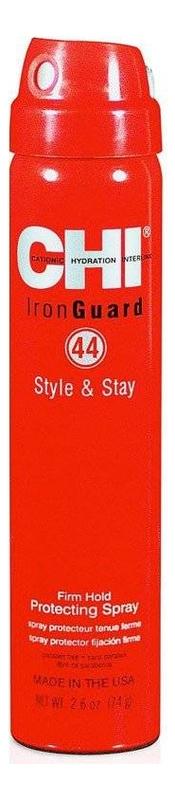 Термозащитный спрей сильной фиксации 44 Iron Guard Style & Stay Firm Hold Protecting Spray: Спрей 74мл