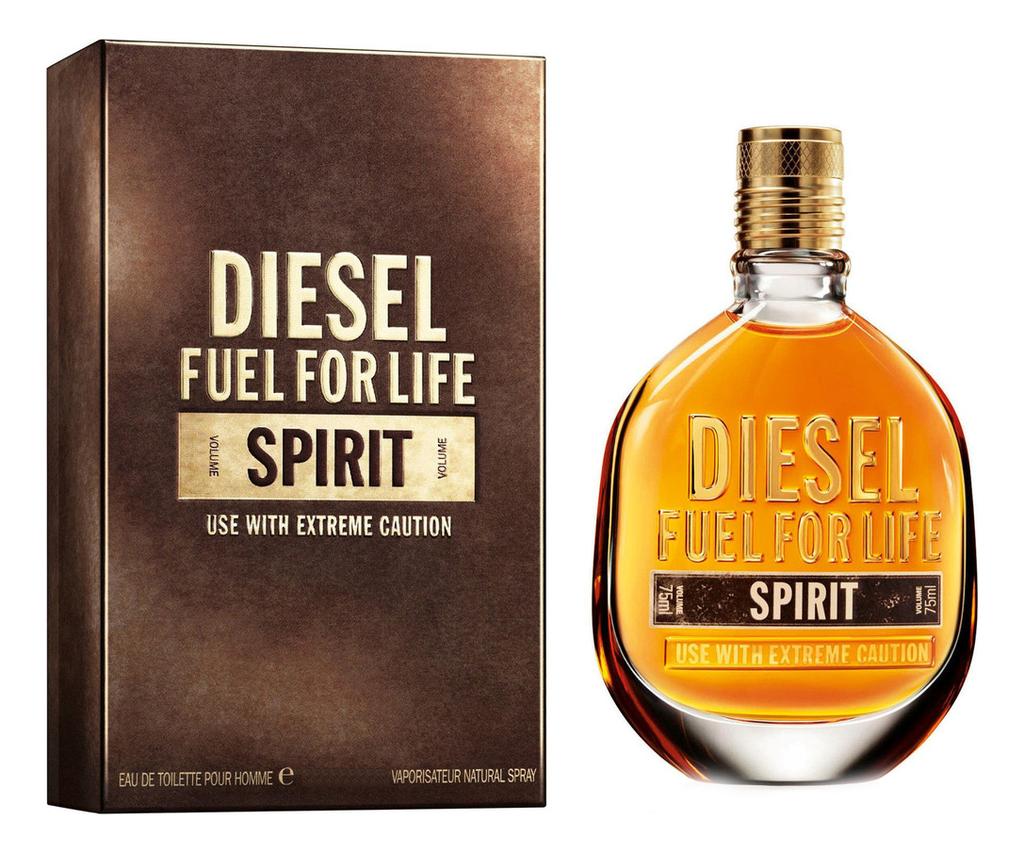 diesel fuel for life spirit by diesel for men 2 5 oz edt spray Fuel For Life Spirit: туалетная вода 75мл