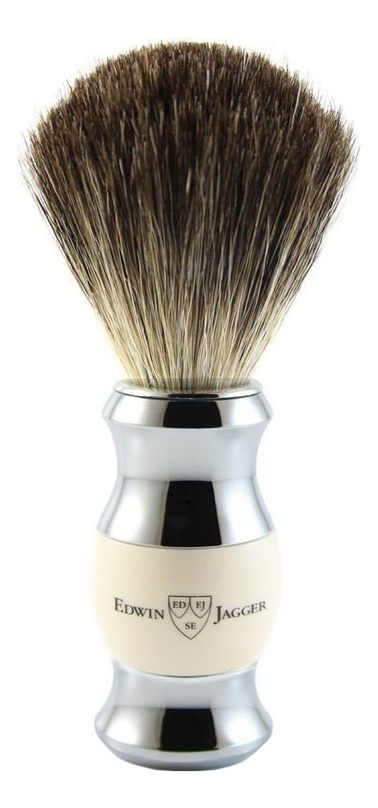 Помазок для бритья 81SB357CR (щетка барсучий ворс) помазок для бритья 81sb353cr щетка барсучий ворс