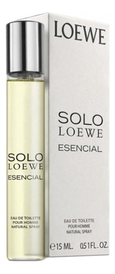 Loewe Solo Loewe Esencial: туалетная вода 15мл new astrology key chain 12 zodiac aries gemini wallet key chain accessory gift fashion taurus key chain a birthday present woman
