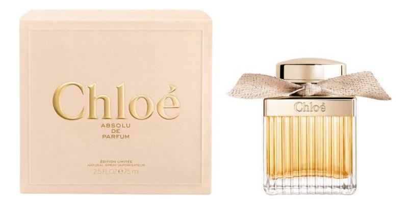 Chloe Absolu De Parfum: парфюмерная вода 75мл парфюмерная вода chloe absolu de parfum 50 мл