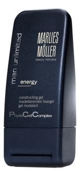 Купить Гель структурирующий для укладки волос Men Unlimited Energy 100мл, Marlies Moller
