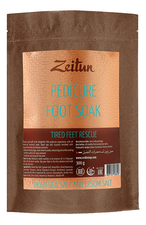 Zeitun Солевая ванна для ног с минералами Мертвого моря и магнезий Pedicure Foot Soak 300г