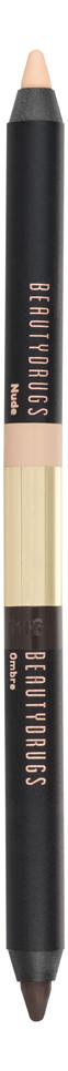 Фото - Двойной карандаш для глаз Double Eye Pencil 2,98г: Nude-Ombre dr hauschka карандаш для глаз eye definer оттенок 00 nude