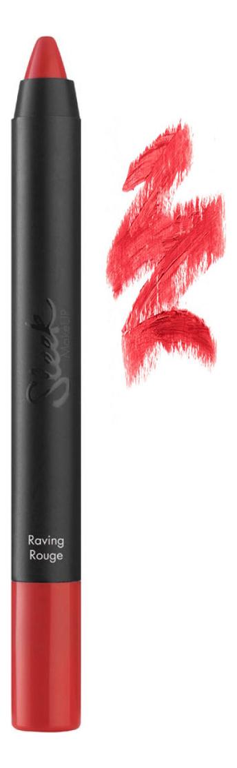 Помада-карандаш Power Plump Lip Crayon 3,6г: Raving Rouge
