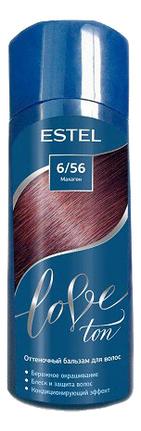 Оттеночный бальзам для волос Love Ton 150мл: 6/56 Махагон
