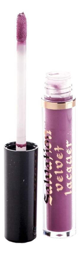 Матовый блеск для губ Salvation Velvet Lip Lacquer 2мл: Keep Lying For You