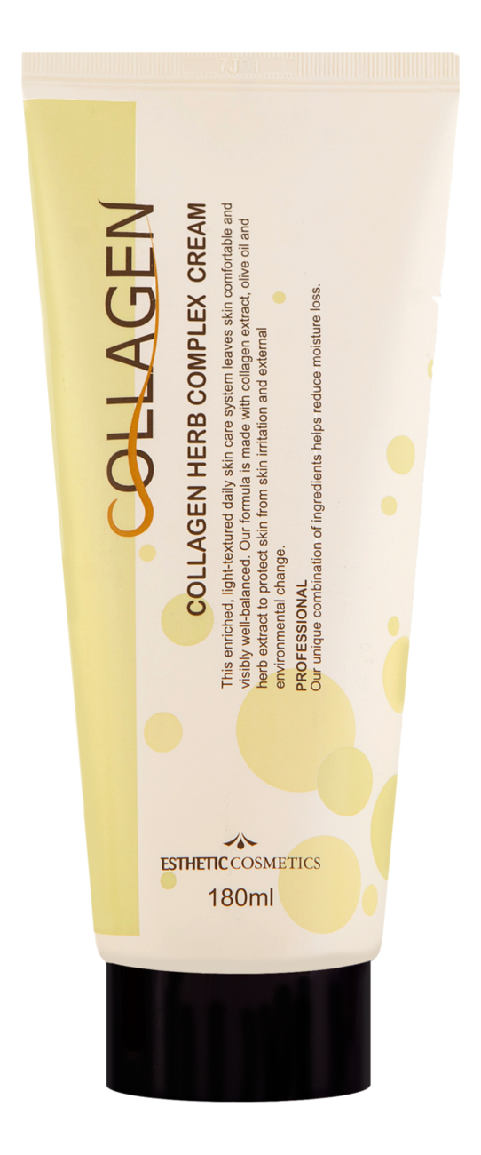 Крем для лица с коллагеном и растительными экстрактами Collagen Herb Complex Cream 180мл крем для лица с коллагеном и растительными экстрактами collagen herb complex cream 180мл