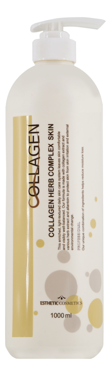 Тоник для лица Collagen Herb Complex Skin 1000мл