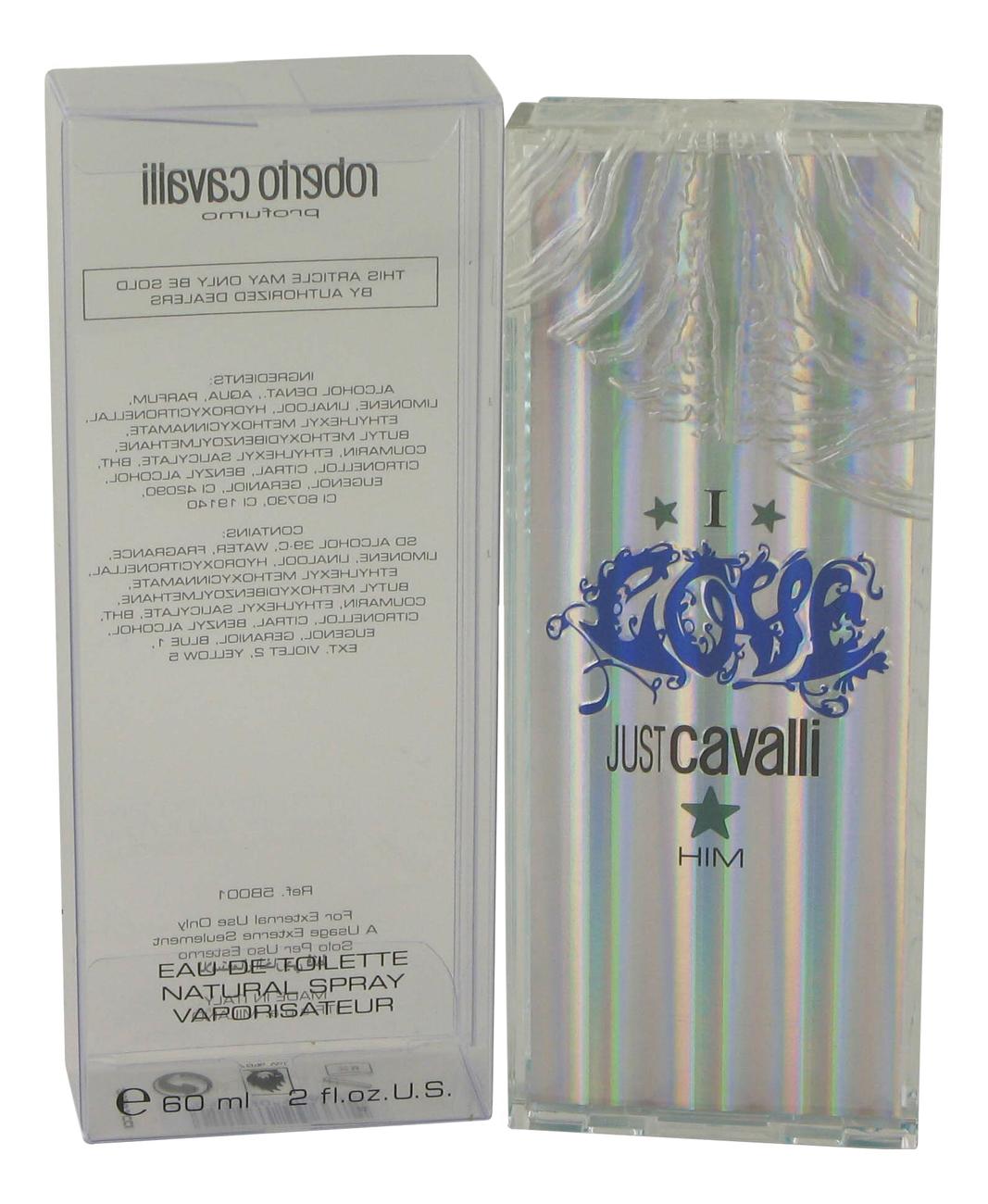 Roberto Cavalli Just I Love Him: туалетная вода 60мл