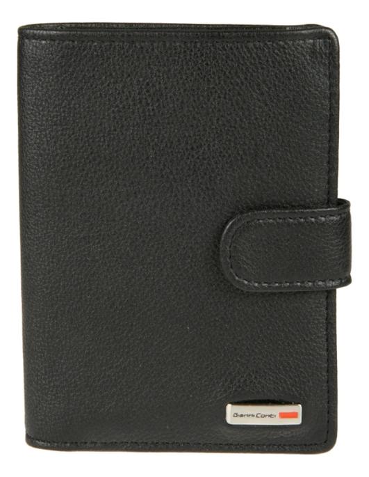 Портмоне с обложкой для автодокументов Black 1608451 (черное) фото