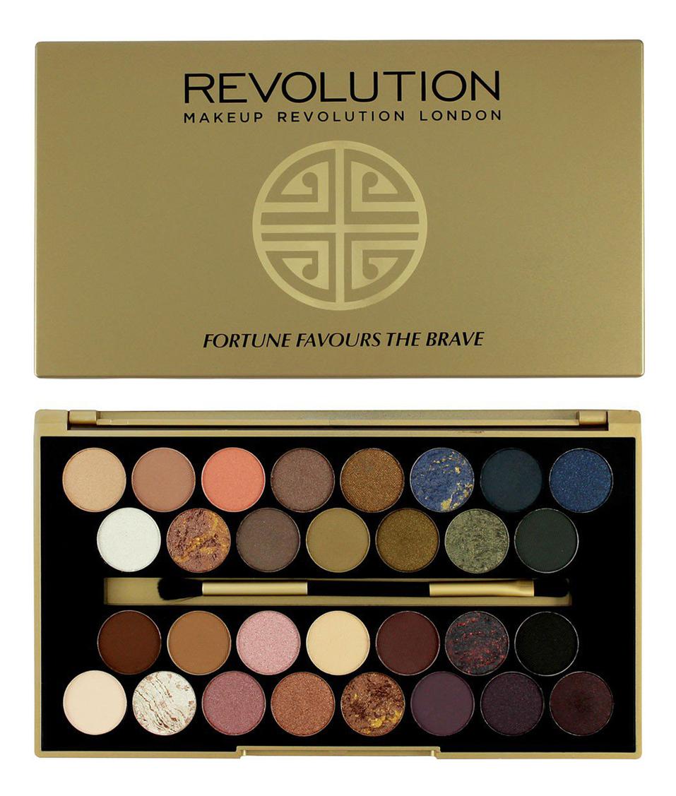 Палетка теней для век 30 Eyeshadow Palette, Fortune Favours The Brave 15г палетка для теней newtrals vs neutrals palette makeup revolution глаза