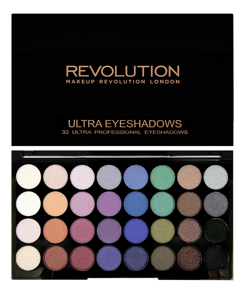 Фото - Палетка теней для век 32 Eyeshadow Palette 20г: Mermaids Forever палетка теней для век 32 eyeshadow palette 20г flawless