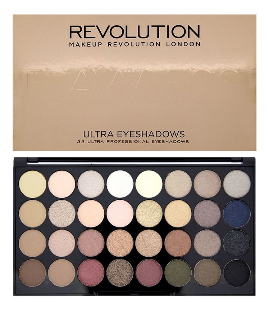 Фото - Палетка теней для век 32 Eyeshadow Palette 20г: Flawless палетка теней для век 32 eyeshadow palette 20г flawless