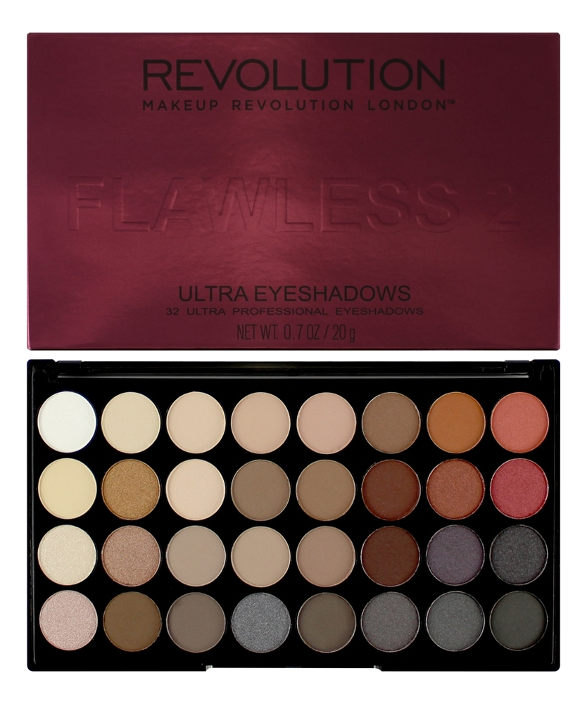 Фото - Палетка теней для век 32 Eyeshadow Palette 20г: Flawless 2 палетка теней для век 32 eyeshadow palette 20г flawless