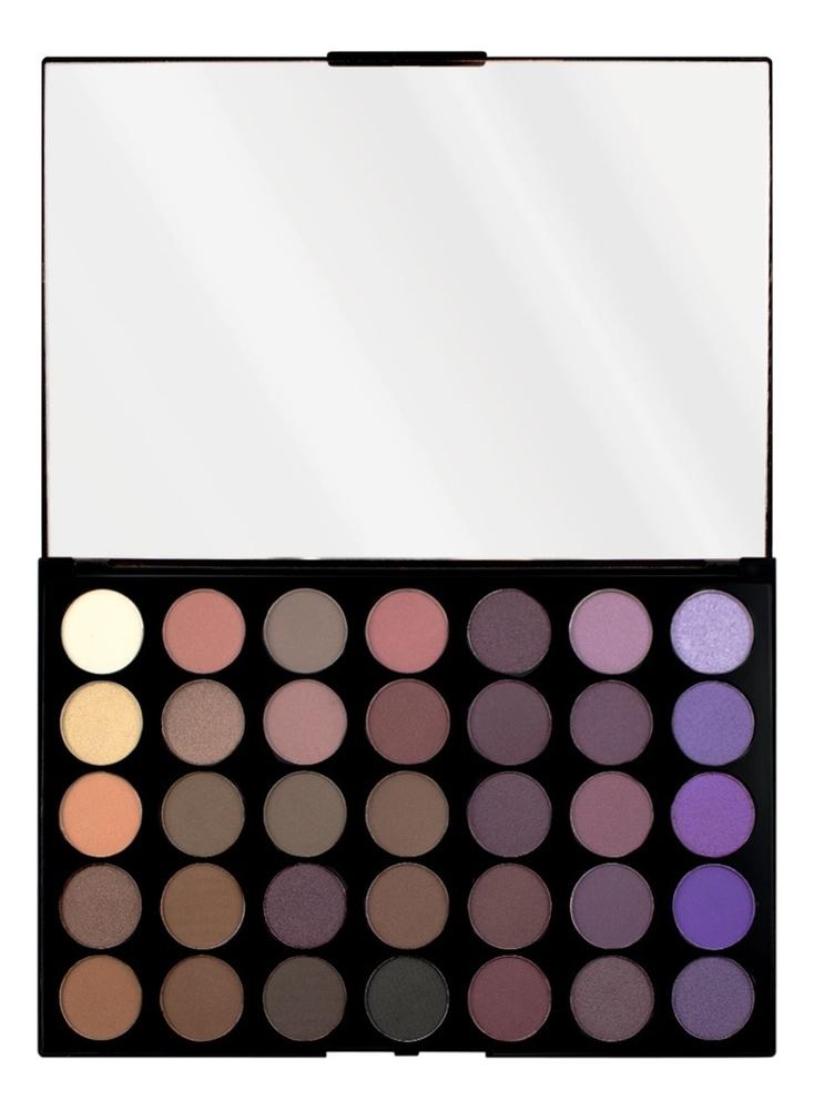 Палетка теней для век Pro HD Palette Amplified 35 30г: Dynamic палетка для теней newtrals vs neutrals palette makeup revolution глаза