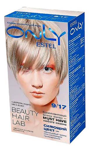 Стойкая краска-гель для волос ONLY 150г: 9.17 Блондин пепельно-коричневый фото