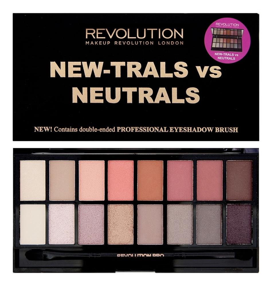 Купить Палетка для теней New-Trals vs Neutrals Palette 16г, Makeup Revolution