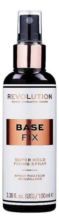 Купить Спрей для фиксации макияжа Base Fix Makeup Fixing Spray 100мл, Makeup Revolution