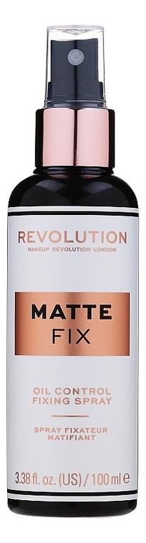 Купить Спрей для фиксации макияжа Oil Control Fixing Spray 100мл, Makeup Revolution