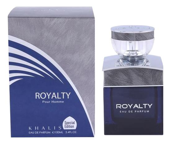 Khalis Royalty Pour Homme: парфюмерная вода 100мл