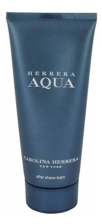 Carolina Herrera Aqua for men: бальзам после бритья 100мл