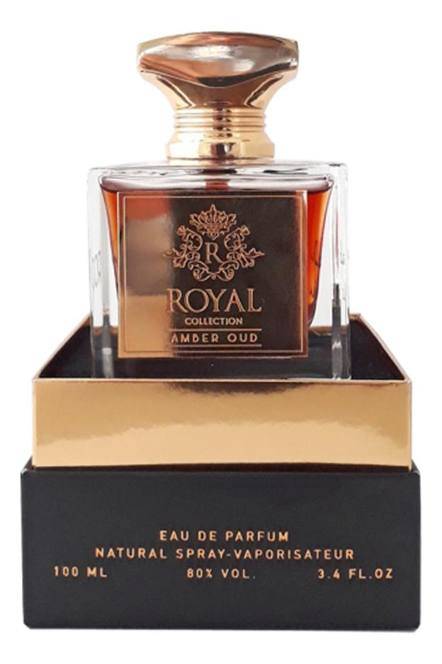 Khalis Royal Amber Oud : парфюмерная вода 100мл khalis 20 мл