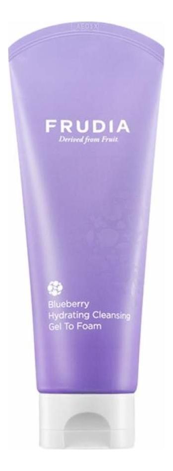 Купить Увлажняющая гель-пенка для умывания с экстрактом черники Blueberry Hydrating Cleansing Gel To Foam 145мл, Frudia