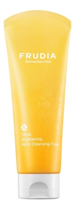 Пенка для умывания с экстрактом цедры мандарина Citrus Brightening Micro Cleansing Foam 145мл frudia микропенка citrus brightening micro cleansing foam для умывания с цитрусом 145г