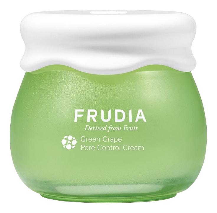 Купить Себорегулирующий крем для лица с экстрактом зеленого винограда Green Grape Pore Control Cream 55мл: Крем 55г, Frudia