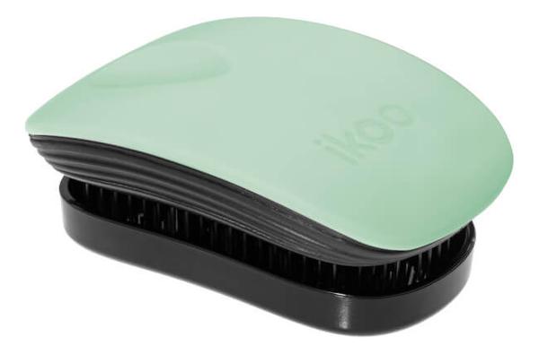 Расческа для волос в металлическом корпусе Pocket Black Metallic (мини-версия): Ocean Breeze ikoo pocket расческа для волос black oyster metallic