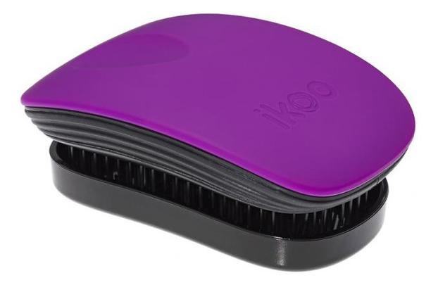 Расческа для волос в металлическом корпусе Pocket Black Metallic (мини-версия): Suger Plum ikoo pocket расческа для волос black oyster metallic