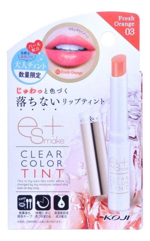 Увлажняющая губная помада-тинт Clear Color Tint 3,5мл: Свежий апельсин