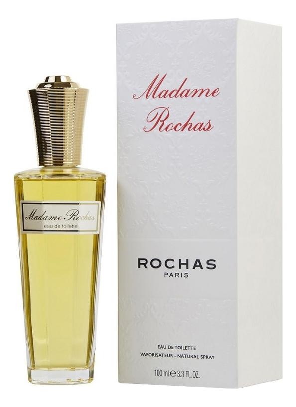 Rochas Madame Rochas: туалетная вода 100мл paclan practi universal губки для посуды 5 шт