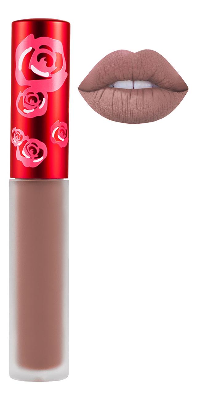 Жидкая матовая помада Velvetines Liquid Matte Lipstick 2,6мл: Buffy жидкая матовая помада velvetines liquid matte lipstick 2 6мл elle