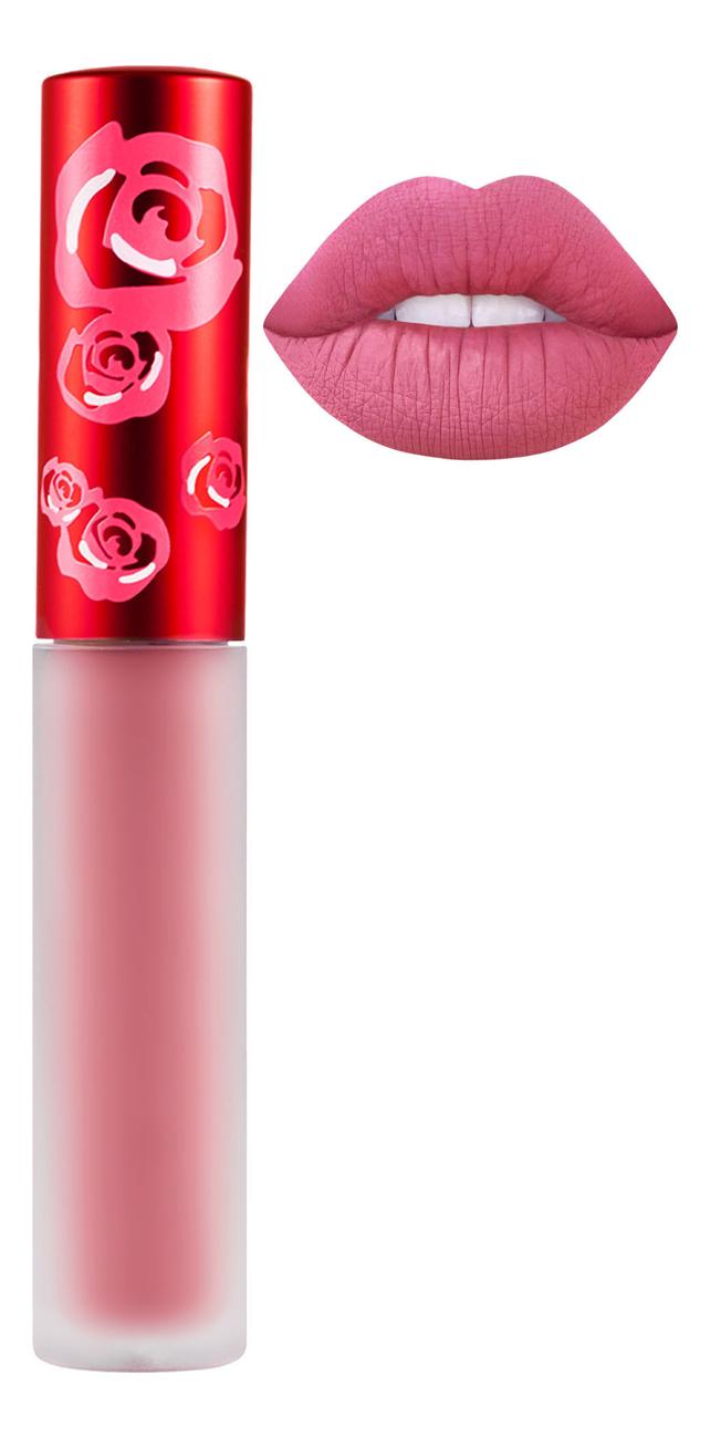 Жидкая матовая помада Velvetines Liquid Matte Lipstick 2,6мл: Cupid жидкая матовая помада velvetines liquid matte lipstick 2 6мл elle