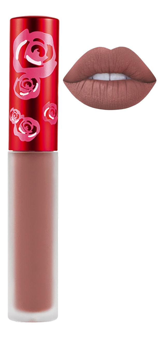 Жидкая матовая помада Velvetines Liquid Matte Lipstick 2,6мл: Elle жидкая матовая помада velvetines liquid matte lipstick 2 6мл elle