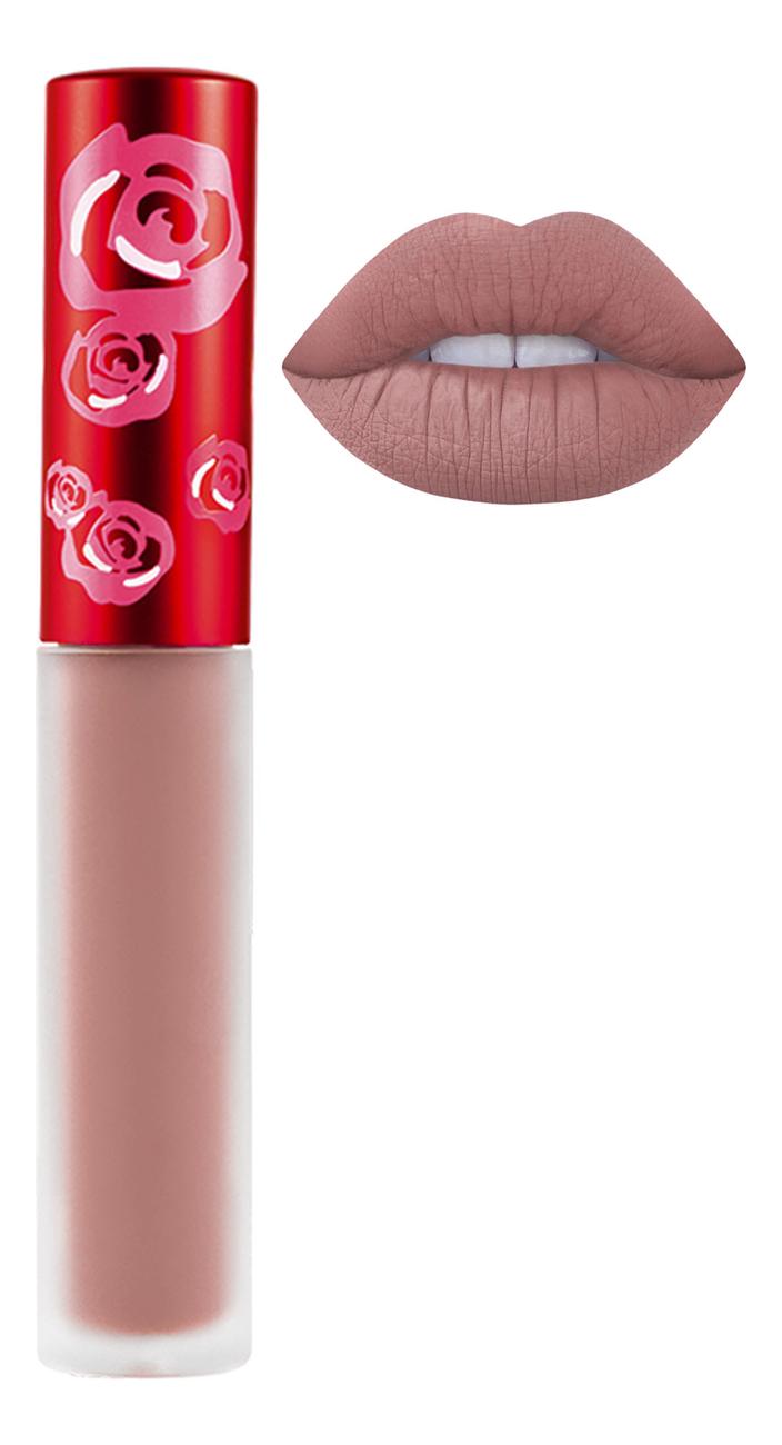 Жидкая матовая помада Velvetines Liquid Matte Lipstick 2,6мл: Lulu жидкая матовая помада velvetines liquid matte lipstick 2 6мл elle