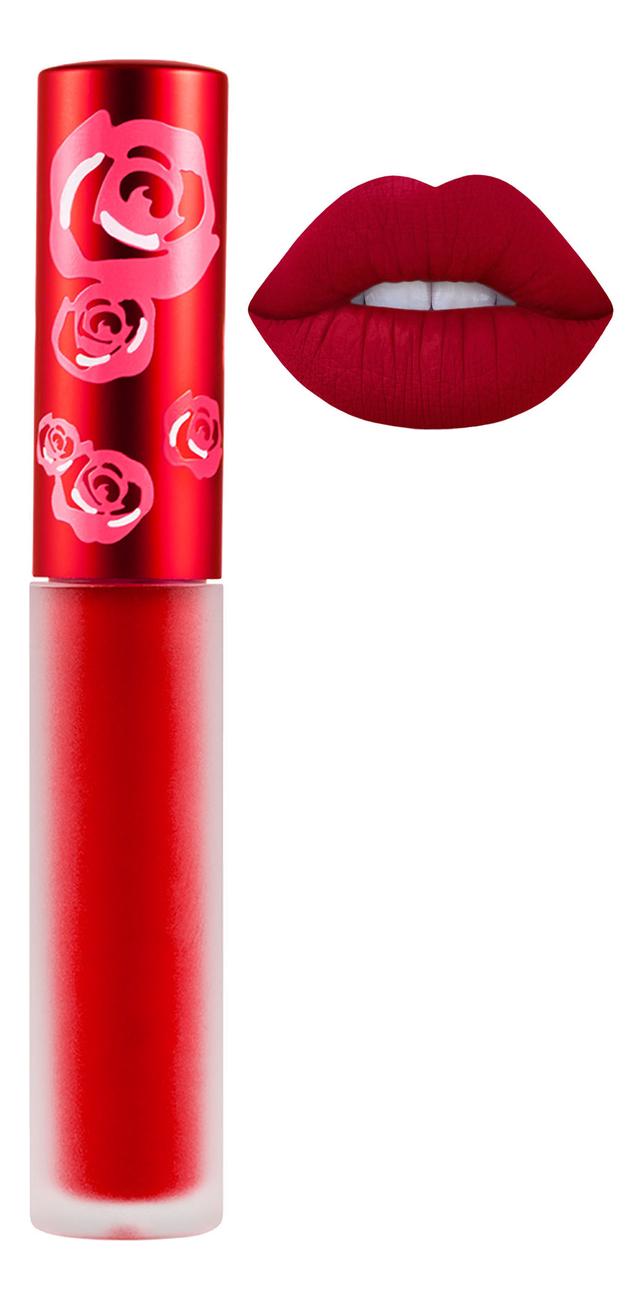 Жидкая матовая помада Velvetines Liquid Matte Lipstick 2,6мл: Red Velvet