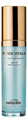 Сыворотка для лица Force Vitale Aqua Vitale Serum 30мл swiss line force vitale мягкий гель эксфолиант