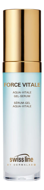 Освежающая гель-сыворотка Force Vitale Aqua Vitale Gel-Serum 30мл swiss line force vitale мягкий гель эксфолиант
