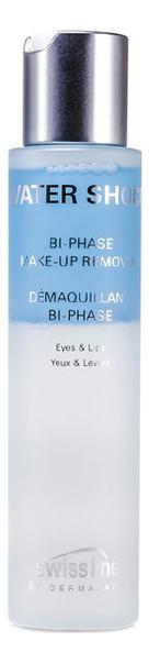 Двухфазное средство для снятия макияжа Water Shock Bi-Phase Make-Up Remover 100мл двухфазное средство для снятия макияжа bi phase 250мл