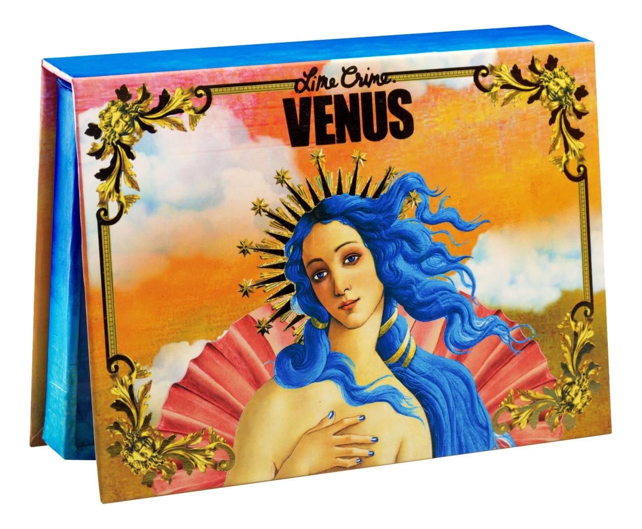 Палетка теней Venus Palettes 16г lime crime палетка теней prelude exposed