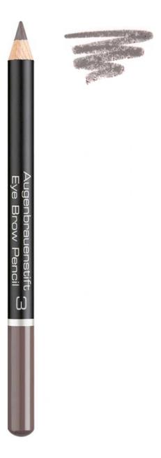 Карандаш для бровей Augenbrauenstift Eye Brow Pencil 1,1г: 3 Soft Brown artdeco карандаш для бровей eye brow pencil тон 6 1 1 г