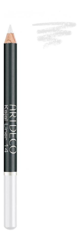 Карандаш для век Kajal 1,1г: 14 White artdeco тени карандаш для