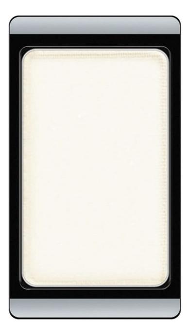 Тени для век матовые Eyeshadow Matt 0,8г: 512 White тени для век матовые eyeshadow matt 0 8г 524 dark grey mocha